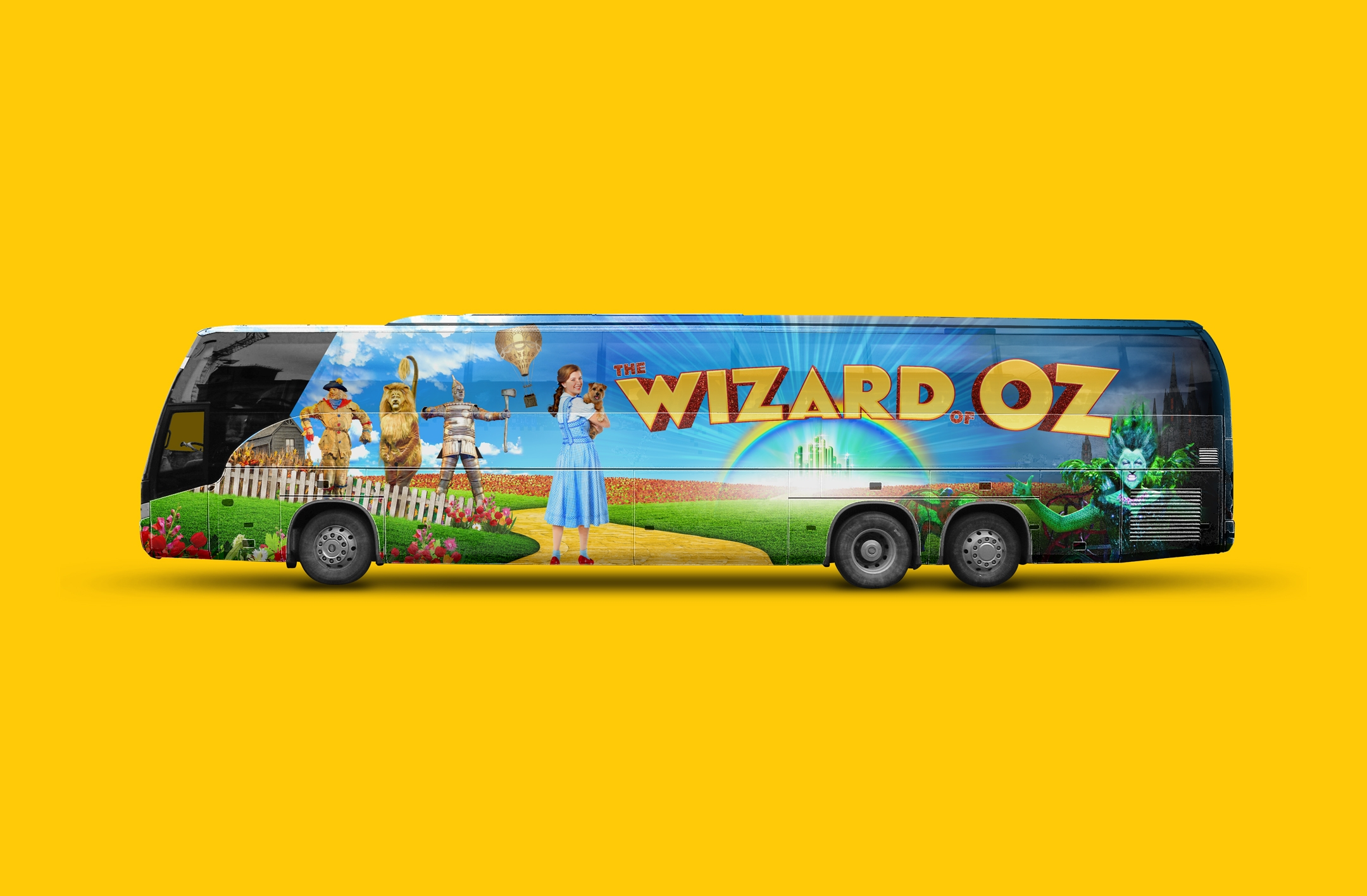 The Wizard of Oz Bus Wrap
