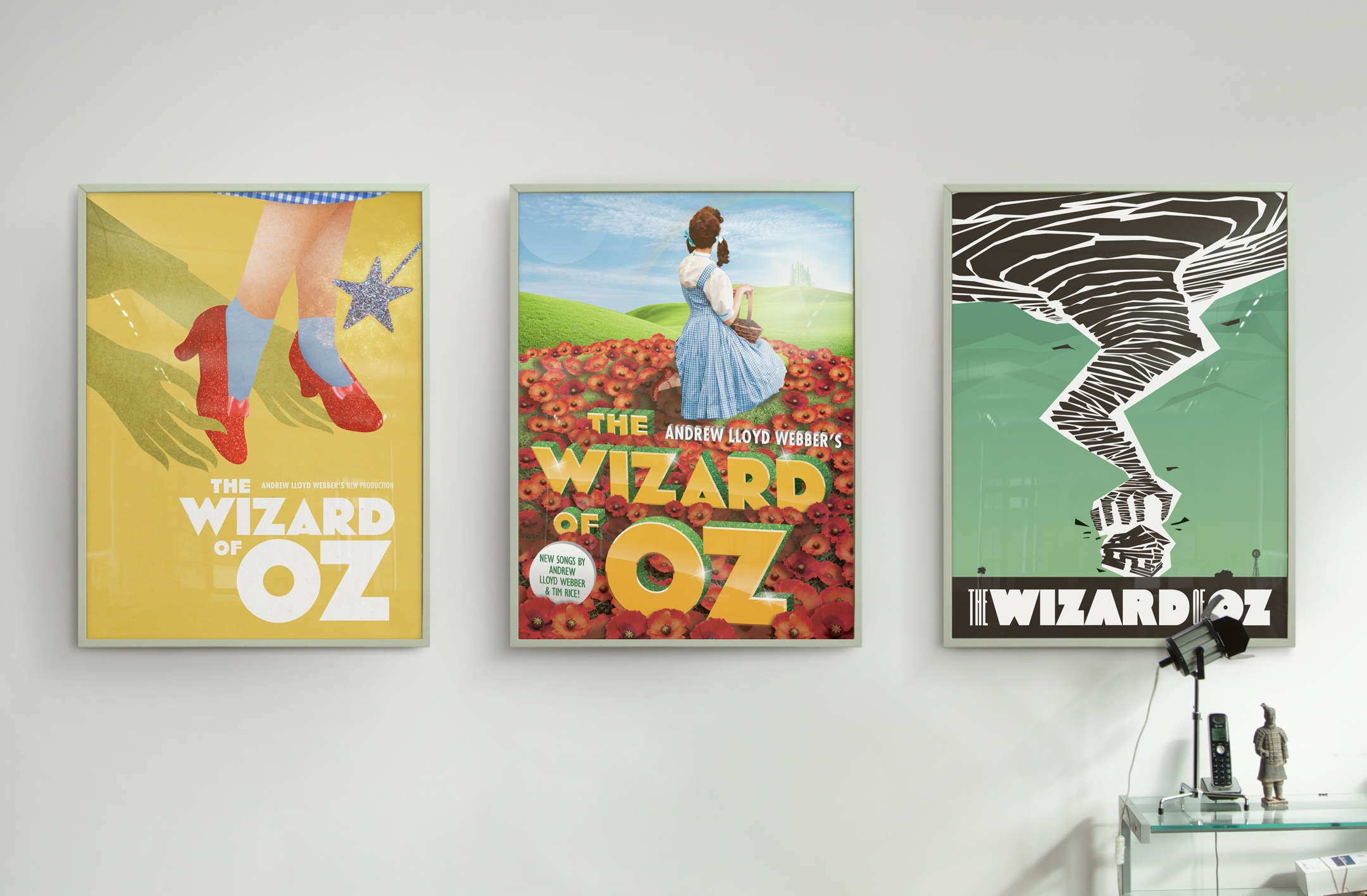 The Wizard of Oz Poster Concepts