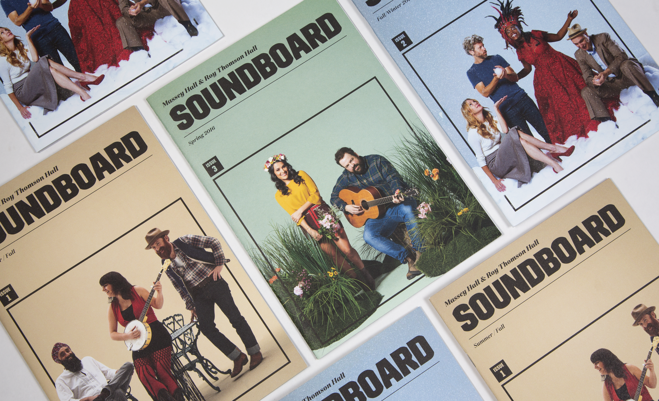 Soundboard Magazine Cover