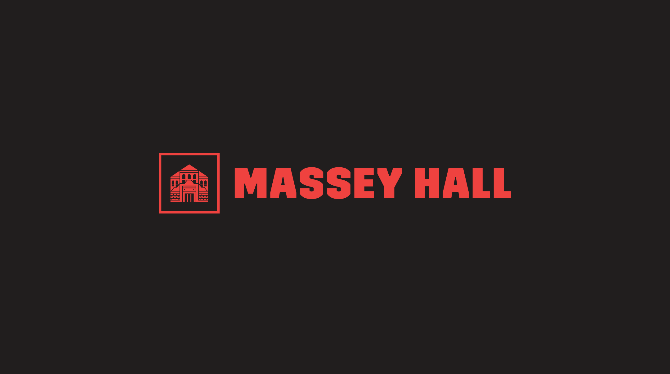 Massey Hall Wordmark