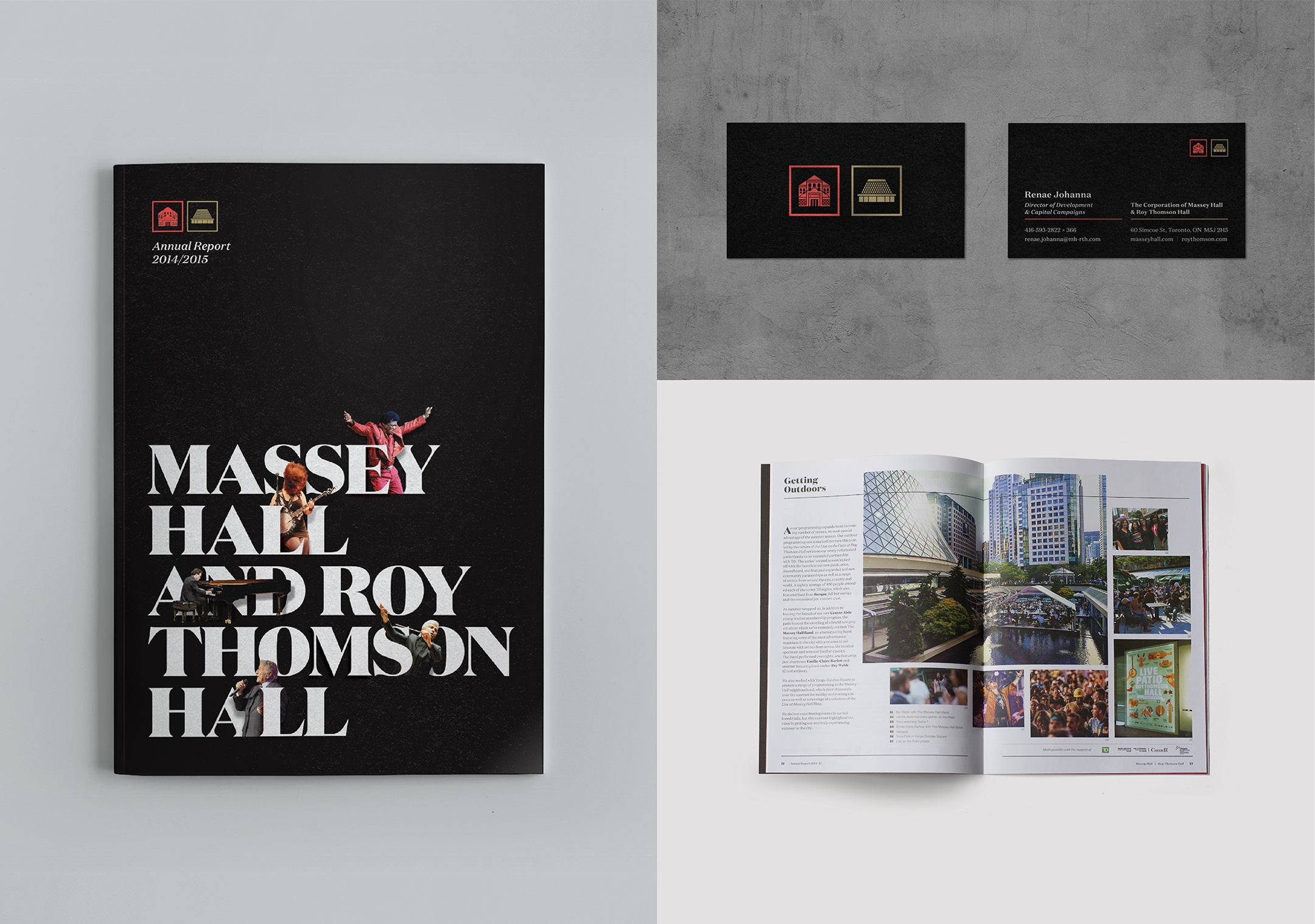 Massey Hall and Roy Thomson Hall Annual Report